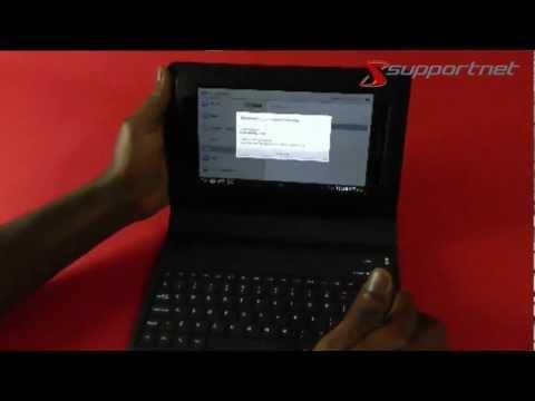 Galaxy Keyboard Tasche erster Anschluß