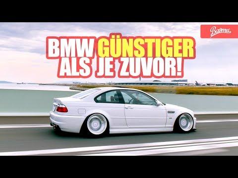 BMW günstiger als je zuvor! BMW E46 Gebrauchtwagen-Tipp Neuauflage (Das Original) -
