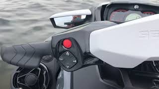 5. Sea-Doo sound system at 30mph