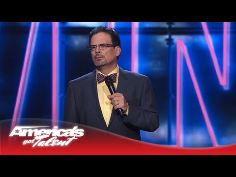 John Wing - Comedian Makes Jokes About His Teenagers - America's Got Talent 2013