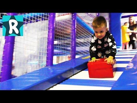 Влог Парк Развлечений для Детей Новый Развлекательный Центр Лавина Молл Amusement indoor playground (видео)