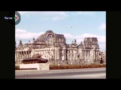 (1947) - This color film covers close-up observation inside Post-War Germany as they existed in 1947.In this first part: 1)- BY ARMY PLANE FROM LONDON TO BERLIN, (Not...