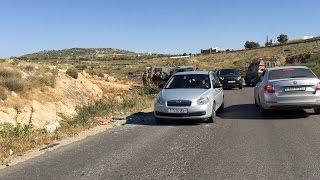 قوات الاحتلال تطلق النار على سائق جرافة بالقرب من حاجز جبارة جنوب طولكرم