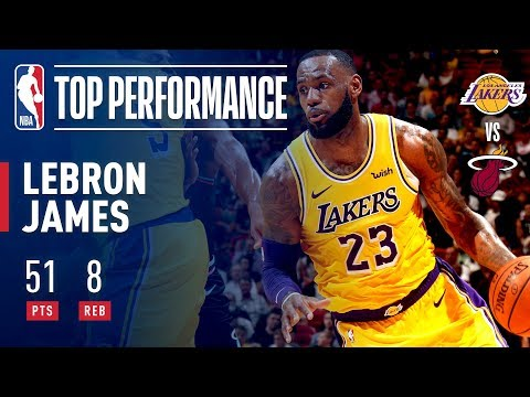 Video: LeBron James Drops A Season High 51 POINTS In Miami | November 18, 2018