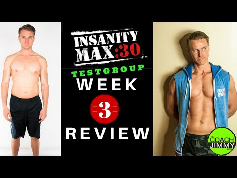 Insanity Max 30 Workout – Test Group Week 3 Review, InsaneMaxWorkout.com
