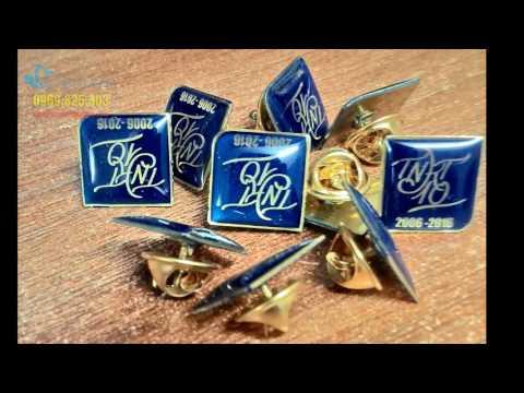 Cơ sở sản xuất huy hiệu đồng, huy hiệu ăn mòn, huy hiệu dập nổi, huy hiệu in ảnh, huy hiệu mạ vàng