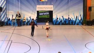 Kristin Palfreyman  & Vitus Reiter - Nordbayerische Meisterschaft 2015