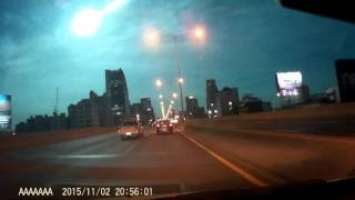 Meteor nad Bangkokiem 2.11.2015