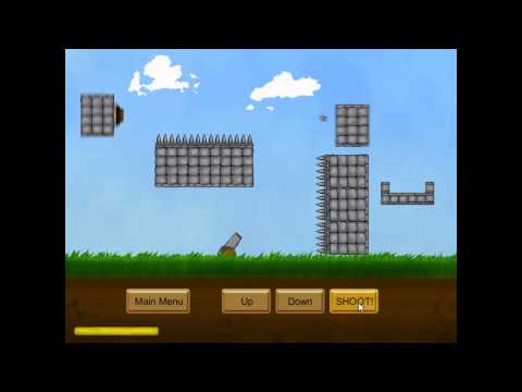 Video of Cannon Blast Game