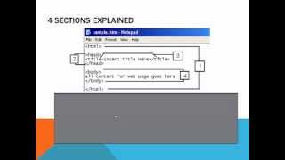 HTML Tutorial 1 Of 7:  Beginner HTML Tutorial