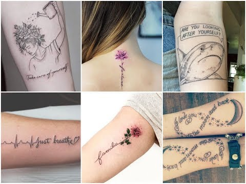 Cute quotes - Inspirational Quotes Tattoo Design Ideas For Womens
