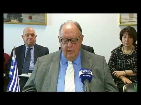 Δηλώσεις του Αντιπροέδρου της Κυβέρνησης, Θεόδωρου Πάγκαλου, μετά από τη συνάντηση με την Αναπληρώτρια Πρωθυπουργό για Ευρωπαϊκές Υποθέσεις της Πρώην Γιουγκοσλαβικής Δημοκρατίας της Μακεδονίας, κ. Teuta Arifi.