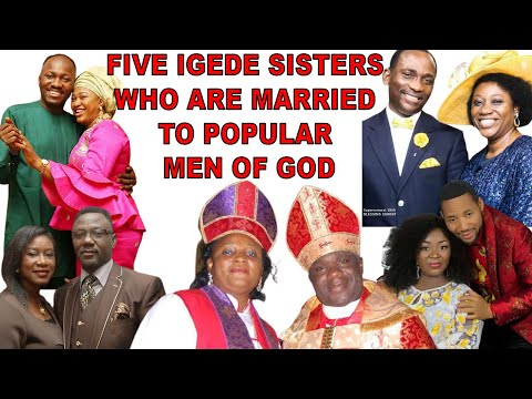BREAKING: Meet five sisters who are married to popular Nigerian pastors