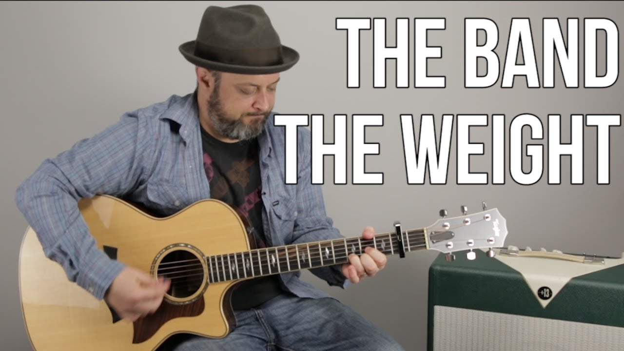 "How to Play ""The Weight"" on Guitar – Easy Acoustic, The Band"