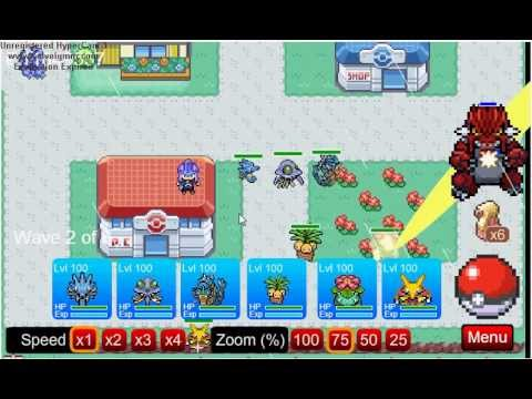 35° parte Pokemon Tower defense - Viridian City