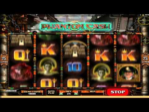 Phantom Cash  ™ free slots machine game preview by Slotozilla.com