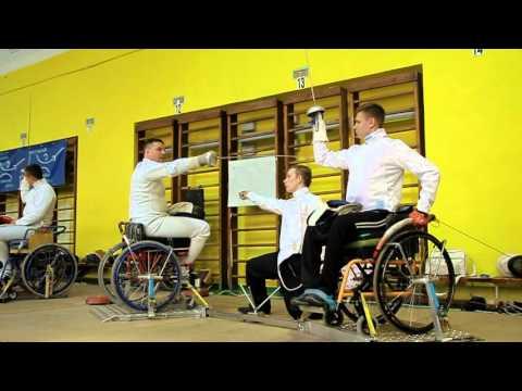 Всеукраинский турнир по фехтованию среди инвалидов на колясках (official video)