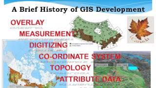 A Brief History of GIS Development