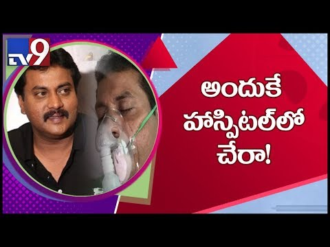 Actor Sunil clarifies about his health condition