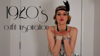 1920s Outfit Inspiration & DIY