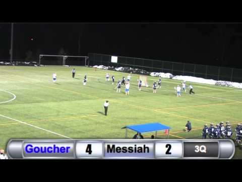 MLAX: Goucher vs. Messiah Highlights - 3/11/15