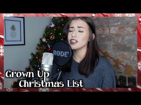 "Kelly Clarkson  ""Grown Up Christmas List"" Cover by Georgia Merry"