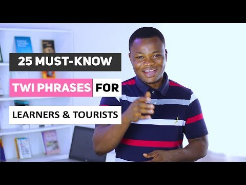 25 Must-Know Twi Phrases for Learners and Tourists | Conversational Twi | Learn Akan