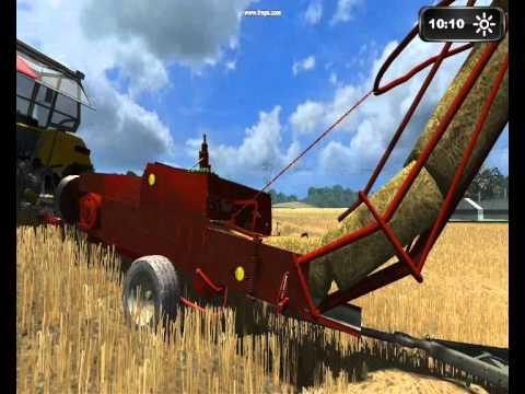 Landwirtschafts simulator 2011 multiplayer ''Żniwa jęczmienne''.
