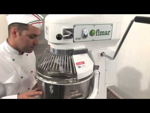 Demonstration for 20 Litre Fimar Planetary Mixer