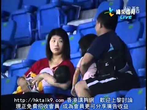 瘋狂老爸為了接球把手中女兒丟掉-老媽大發火