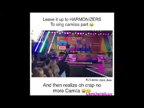 Harmonizers singing Camila's part in Work From Home is the best💕 I MISS HER SO MUCH