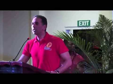 People's National Movement - PNM - on the Hustings in Marabella West - Mar. 4, 2015 - Trinidad