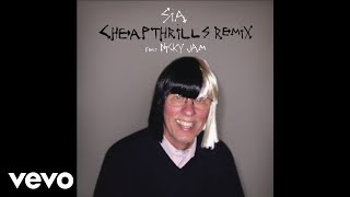 """Cheap Thrills (Remix)"" by Sia featuring Nicky Jam. Get it on iTunes: http://smarturl.it/SiaCTrmxNJ?IQid=yt  Spotify: http://smarturl.it/StreamCTrmxNJ?IQid=yt Amazon: http://smarturl.it/CTrmxNJAm?IQid=yt  Google Play: http://smarturl.it/CTrmxNJGP?IQid=ytGet ""Cheap Thrills"" on Sia's album This Is Acting (Deluxe Edition) including 7 new tracks out now! iTunes - http://smarturl.it/ThisIsActingDeluxe?IQid=ytAmazon - http://smarturl.it/ThisIsActingDeluxea?IQid=ytGoogle Play - http://smarturl.it/ThisIsActingDeluxegp?IQid=ytTarget - http://smarturl.it/TIADLXTarget?IQid=ytFYE - http://smarturl.it/TIADLXFYE?IQid=ytStream it on:Spotify - http://smarturl.it/ThisIsActingDeluxesp?IQid=ytApple Music - http://smarturl.it/ThisIsActingDeluxeam?IQid=ytCatch Sia this fall on the Nostalgic For The Present Tour w/ Miguel & AlunaGeorge. http://siamusic.net/tourFollow Team Sia's Ear Candy on Spotify http://spoti.fi/1LMlB7XSubscribe to Sia on YouTube: http://bit.ly/1sudphSWebsite: http://siamusic.net Twitter: http://twitter.com/siaInstagram: http://instagram.com/SiaThisIsActingFacebook: http://facebook.com/siamusicSpotify: http://spoti.fi/1fKpbS0"