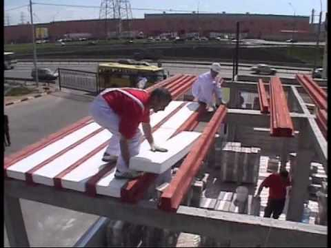 Видео быстрое строительство дома из кубиков