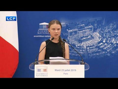 Γαλλία: Εν μέσω αντιδράσεων η ομιλία της Γκρέτα Τούνμπεργκ στην εθνοσυνέλευση…
