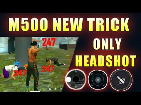 New m500 headshot trick 💥💥🤯 only headshot 👽 #smdyt
