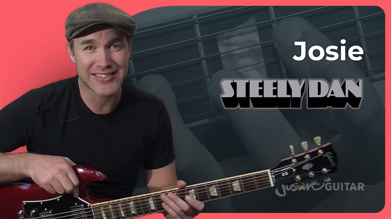 Riff #13: Josie – Steely Dan Larry Carlton (Songs Guitar Lesson RF-013) How to play
