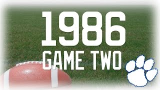 Willow Springs (MO) United States  City pictures : Salem Tigers Football | 1986 Game Two vs. Willow Springs (MO)