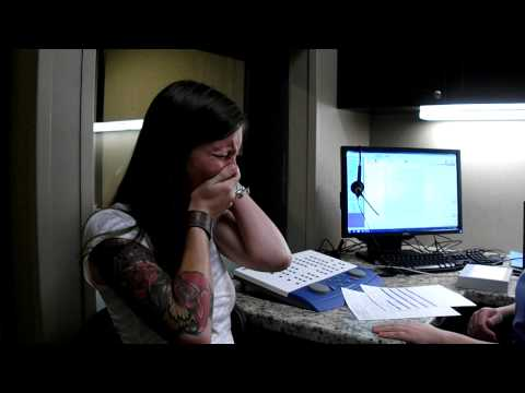 Click - I was born deaf and 8 weeks ago I received a hearing implant. This is the video of them turning it on and me hearing myself for the first time :) Edit: For t...