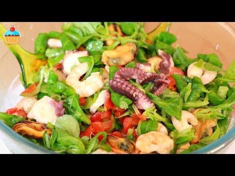 Салат из морепродуктов рецепты и фото