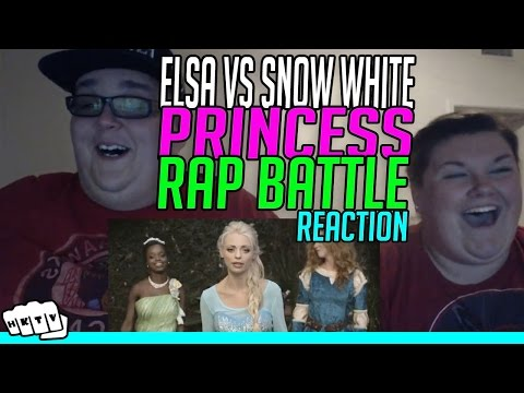 Video PRINCESS RAP BATTLE #1 Snow White vs Elsa REACTION!!🔥 download in MP3, 3GP, MP4, WEBM, AVI, FLV January 2017