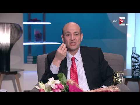 عمرو أديب يثبت لخالد الصاوي قدرته على الغناء