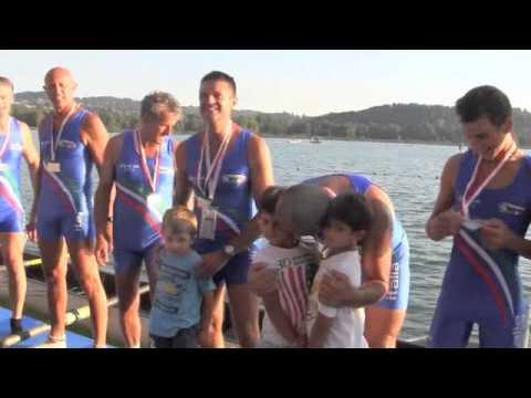 Mondiali master canottaggio, la cerimonia d'apertura