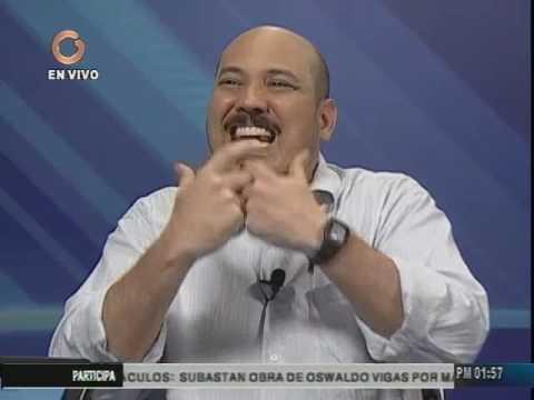 """Carlos Aquino (PCV) en el programa """"Vladimir a la 1"""" (Segunda parte)"""