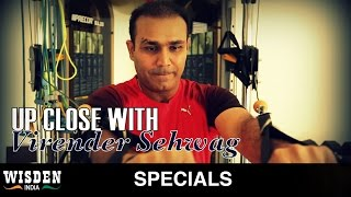 Up close with Virender Sehwag