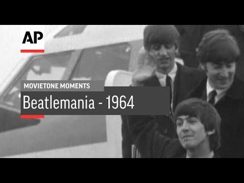 Beatlemania - 1964 | Movietone Moment | 6 July 18