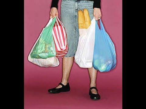 come riutilizzare i sacchetti di plastica.
