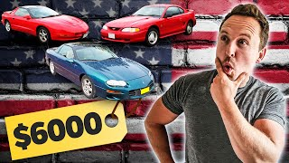 £5000 American Muscle Car Challenge by Car Throttle