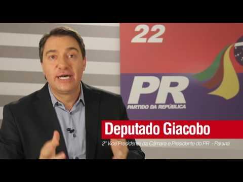 Em Chopinzinho (PR) é Jurandir Martinelli 33 nas eleições 2016 apoia Giacobo