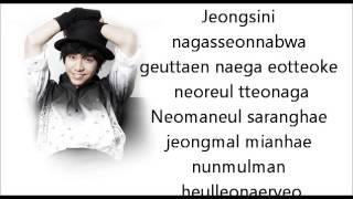 Video Lee Seung Gi - Losing My Mind Lyrics MP3, 3GP, MP4, WEBM, AVI, FLV Maret 2018